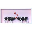 Verliebte Kühe