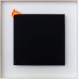 Brennendes Quadrat