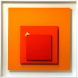 Homage to Josef Albers 'The burning square'