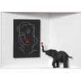 Homage to Henri Matisse 'Verliebter Elefant'