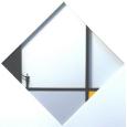 Homage to Piet Mondrian 'Mondrian hält die schwarze Ecke'