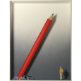 Homage to Claes Oldenburg 'Ein gewaltiger Stift'