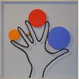Punkt & Linie 04 'Hand'
