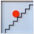 Punkt & Linie 10 'Treppe 1'