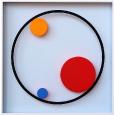 Punkt & Linie 25 '3 Farbpunkte'