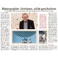 Volker Kühn-Ausstellung im Münchner Merkur vom 2. Dezember 2011