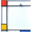 Homage to Piet Mondrian